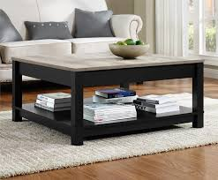 ... Large Size Of Coffee Table:breathtaking Black Rectangle Industrial  Metal Glass Top Coffee Table Sets ...