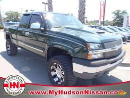 2004 Chevrolet Silverado 1500 Z71 Extended Cab 4x4 in Dark Green ...