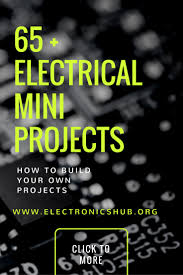 Simple Design Engineering Projects Top 65 Electrical Mini Projects