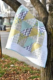 Quick Triangles Baby Quilt | Craft Buds & Quick Triangles Baby Quilt - Free Pattern Adamdwight.com