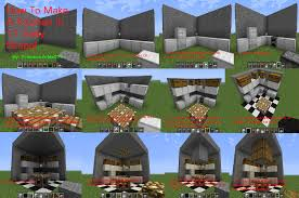 Minecraft Tutorial How To Make A Kitchen by princesszelda224 on