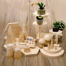 Wooden Jewellery Display Stands Mesmerizing Wood Jewelry Display Stand Earrings Ring Necklace Bracelets