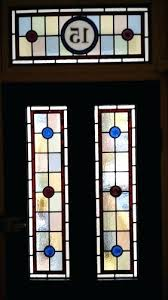 stained glass doors front perth
