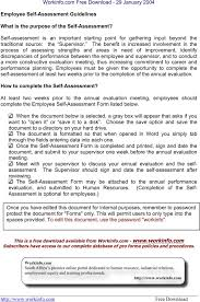 the employee self assessment template can help you make a employee self assessment template