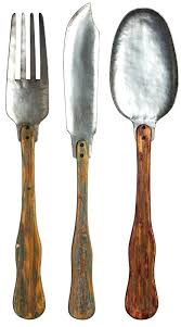 spoon wall decor knife fork and spoon wall decor set giant silver fork and spoon wall