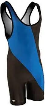 Matman Singlet Size Chart Matmen 8538 Chest Sweep Singlet Black Royal Size Xl