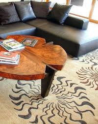custom made rugs ol but coordinating your coffee table with our rug creates a conversation and custom made rugs