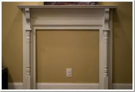 how to build a faux fireplace fireplce trnsformtion diy faux fireplace surround build a fake