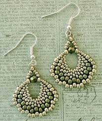 Free Beading Patterns To Download Inspiration Linda's Crafty Inspirations Free Beading Pattern Peyote Fan Earrings