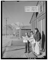 dorothea lange s photos of ese americans imprisonment during  adams ese internment camp