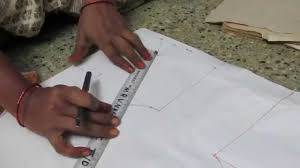 Saree Blouse Design Sketches Blouse Drawing And Cutting