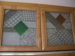 cabinet glass insert sans art kitchen inserts geometric pattern matrix diy frosted doors stained cabinets white