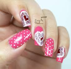 20 Modish and Stylish Valentines Nail Designs 2014 - Be Modish