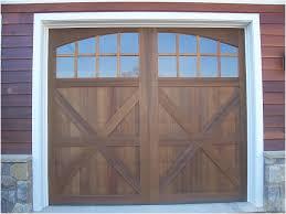 custom wood garage doors precise buildings