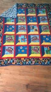 Thomas the Train Quilt Kit! | Quilts | Pinterest | Kid quilts ... & Thomas the Train quilt made for my grandson Avery Adamdwight.com