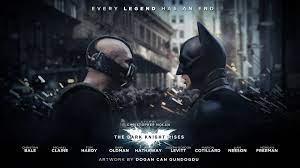 Bane Batman in The Dark Knight Rises ...