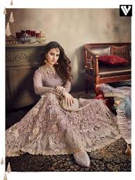 Rosy S Party Designers Buy Rosy Brown Net Designer Lehenga Choli With Stone Work Online