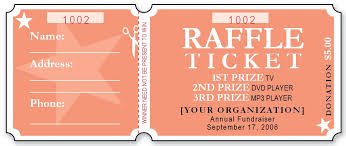 microsoft raffle ticket template raffle ticket dzeo tk