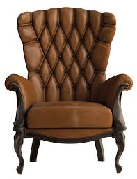 Brown Armchair Armchair Vintage Brown Transparent Png Stickpng