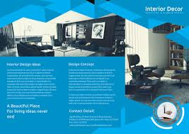 Interior Design Brochure Template Beauteous Cleaning Brochure Templates Free Unique 44 Interior Decoration