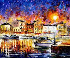 art gallery painting greece 2 palette knife oil painting on canvas by leonid afremov