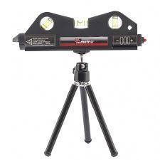 <b>Уровень лазерный</b>, 170 <b>мм</b>, <b>150 мм</b> штатив, 3 глазка Matrix оптом ...