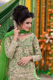 latest stani bridal mehndi dresses makeup and hairstyles