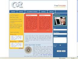 Free Css Website Templates FREE CSS TEMPLATE 24 Three Column Free Css Template By Httpwww 13