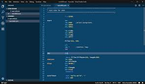 Code Blue Designs Using Retro Assembler With Visual Studio Code Engine Designs