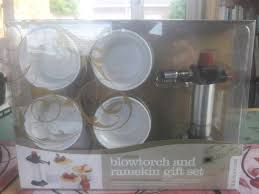 kitchen craft blow torch and ran gift set