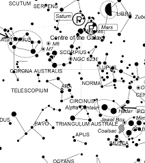 Omega Centauri Star Chart August 2019 Night Sky Audio Guide Transcript And Sky Chart