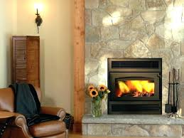replace fireplace insert zero clearance for wood burning gas with replace fireplace insert installations