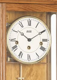 axford wall clock oak dial