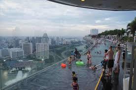 Rhsurripuinet Glamorous Mbs Hotel Pool Marina Bay Sands Infinity