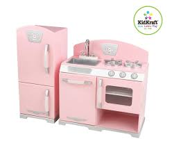 Kid Craft Retro Kitchen Kidkraft Pink Retro Kitchen 53160 Activity Playset Pink Amazon