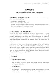 Formal Report Format Sample Formal Report Format Template Technical