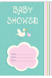 Baby Shower Invitations Card Jelitowkainfo