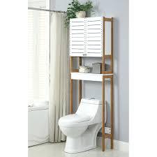 Narrow Bathroom Cabinet Grey White Bathroom Decoration Using