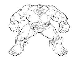 The Incredible Hulk Coloring Pages 2751880 1100811 Attachments
