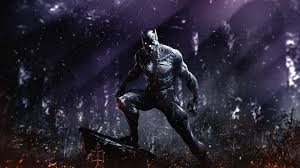 dark superhero marvel black panther 1920x1080 wallpaper