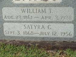 "Satyra Cornelia ""Tyra"" Ivy Bates (1868-1956) - Find A Grave Memorial"
