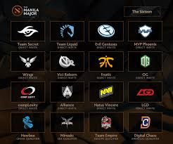 the manila 16 all 16 teams for the manila major are locked in