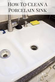 the 25 best cleaning porcelain sink ideas on porcelain sink clean white sink and how kitchen sinks work