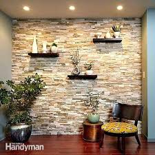 Faux Brick Wall Panels Home Depot Create A Stone Accent