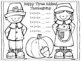 turkey math coloring pages grade thanksgiving for free printable sheets