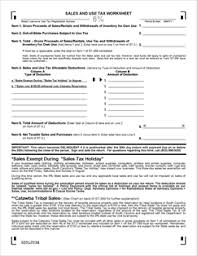 Form ST-3 Fillable State Sales and Use Tax Return 6%