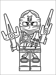 Lego Ninjago Kleurplaten 1