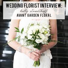 wedding planning interview with florist holly strudthoff of avant garden fl