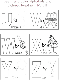 Free Printable Abc Coloring Pages Color Sheets Color Sheets Free