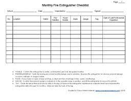 And that's where cintas comes in. Fire Extinguisher Inspection Log By School Admin Network Tpt